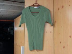 Pull chaussette vert kaki femme