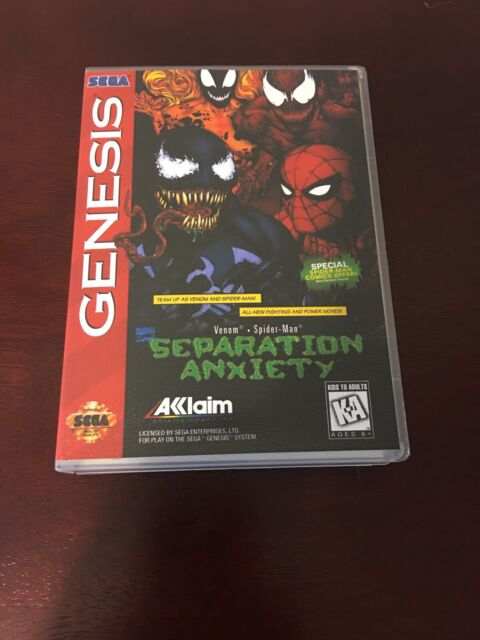 Separation Anxiety (Sega Genesis, 1995) Empty Replacement Case. No Game.