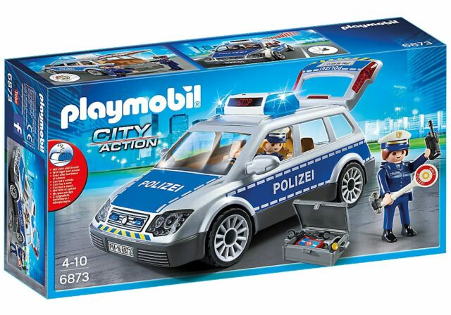 PLAYMOBIL® City Action 6873 Polizei-Einsatzwagen Polizeiwagen Polizeiauto