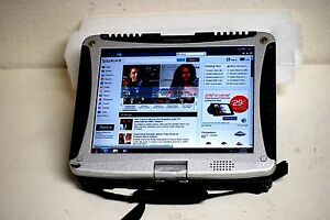 Details About Panasonic Toughbook Cf19 Windows 7 Pro Touch Screen Wifi Tablet Rugged Complete