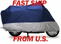 Mon Jonway Scooter Vip Motorcycle Cover Q M 1 Blue/grey