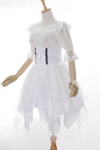 cocktail 640 chemisier rococo jupe et gothique robe cosplay blanc lolita victorien Jl 3 acqndRw0z0