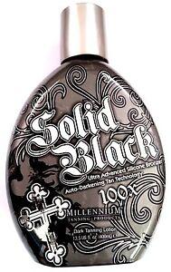 Solid Black 100X Bronzer Indoor & Outdoor Dark Tanning Bed ...