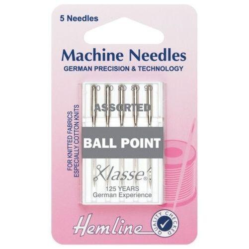 Punto De Agujas De Coser Dobladillo Ball-Surtido 5 agujas H101.99