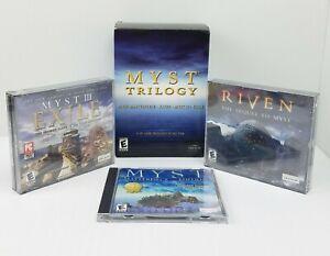 Myst Trilogy (Windows/Mac, 2002) Myst Masterpiece, Riven & Myst III in Exile