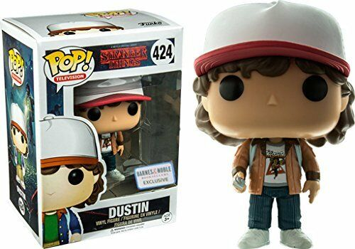 Pop  Stranger Things Dustin Exclusive Vinyl Figure Funko F