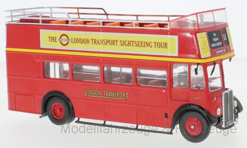 IXOBUS018 AEC Regent RT rot London Transport 1950, 1 43 IXO
