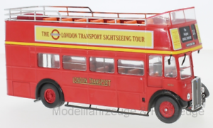 Ixobus 018 aec regent rt london transport red 1950 1 43 ixo