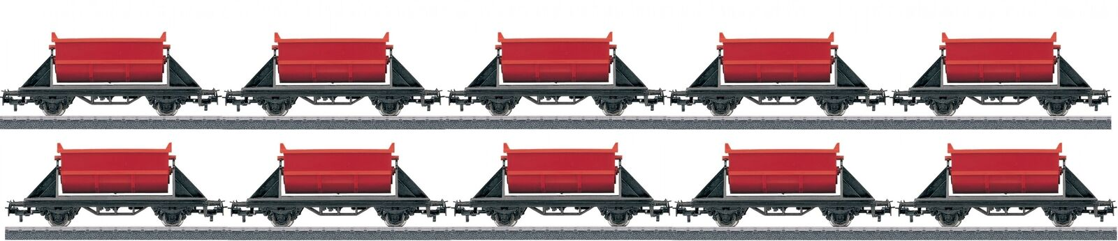 10 Trix h0 Tipping Wagon From Starter Set 21523