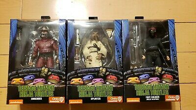 Neca Teenage Mutant Ninja Turtles Tmnt Movie Shredder Splinter