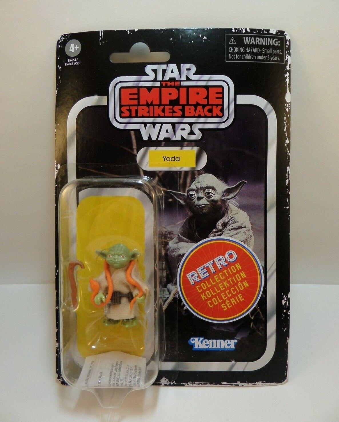 Yoda w//snake Star Wars Empire Strikes Back Retro Collection Vintage Disney hot