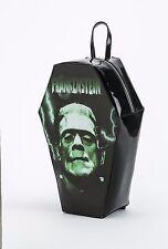 Rock Rebel Frankenstein Coffin Backpack Bag Bookbag Goth Punk Movie Horror Dead