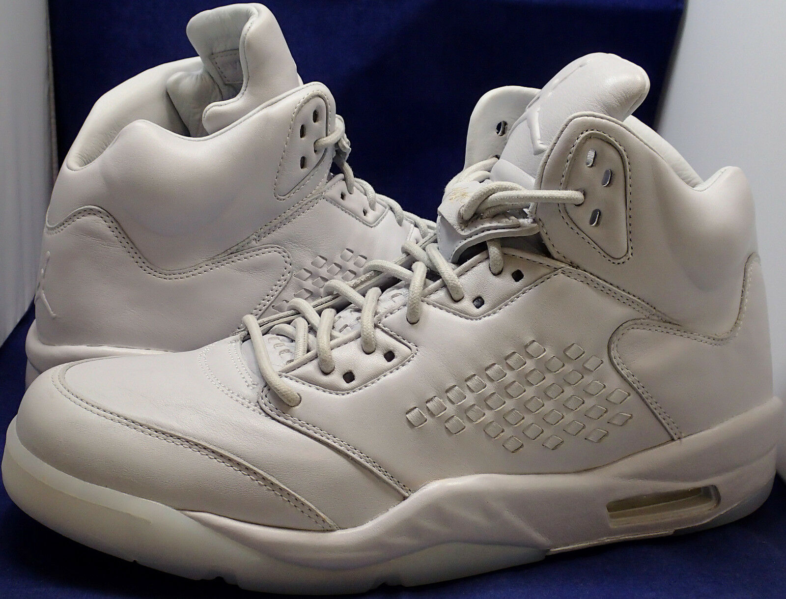 Nike Air Jordan 5 V Retro Premium Pure Platinum SZ 12 ( 881432-003 )