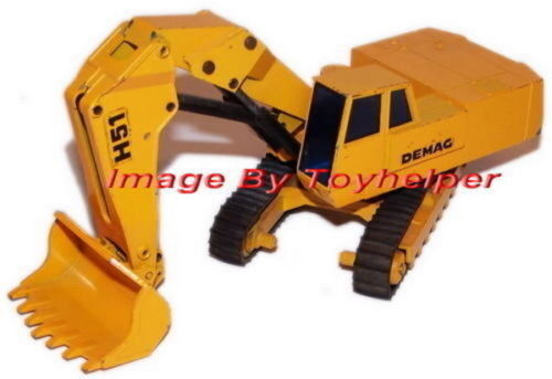 Demag Bulldozer Digger Rig No. 113 West Germany 1 50 Scale Vintage