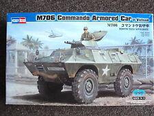 HOBBYBOSS M706 COMMANDO ARMORED CAR  1:35 SCALE UNUSED PLASTIC METAL MODEL KIT