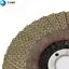 "4/"" Flap Disc Electroplated Diamond Grinding Disc Grit 200 Wheel Sanding Disc"