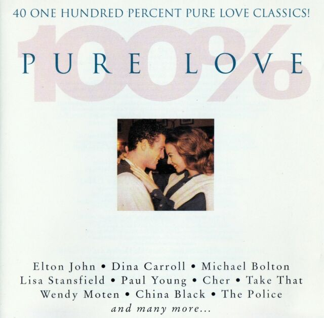100 % PURE LOVE / 2 CD-SET