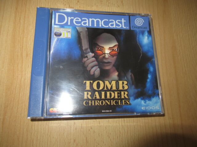 Tomb Raider Chronicles  MINT COLLECTORS Sega Dreamcast,  pal