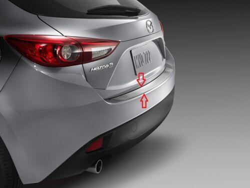 2014-2018 Mazda 3 Factory OEM Mazda Rear Bumper Guard 00008TL32 5-door