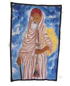 Batik Arazzo Di Sai Baba India 115x 74cm Artigianato India Peterandclo 8830