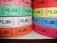 $1 Single Roll Tickets (2000 Tickets Per Roll)