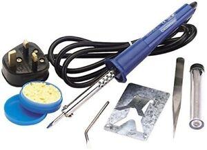 Draper-61257-230V-25W-Soldering-Iron-Kit-Blue