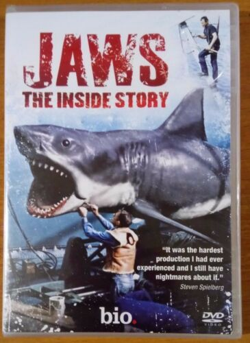 1 of 1 - Jaws - The Inside Story (DVD, 2010) NEW Free Postage