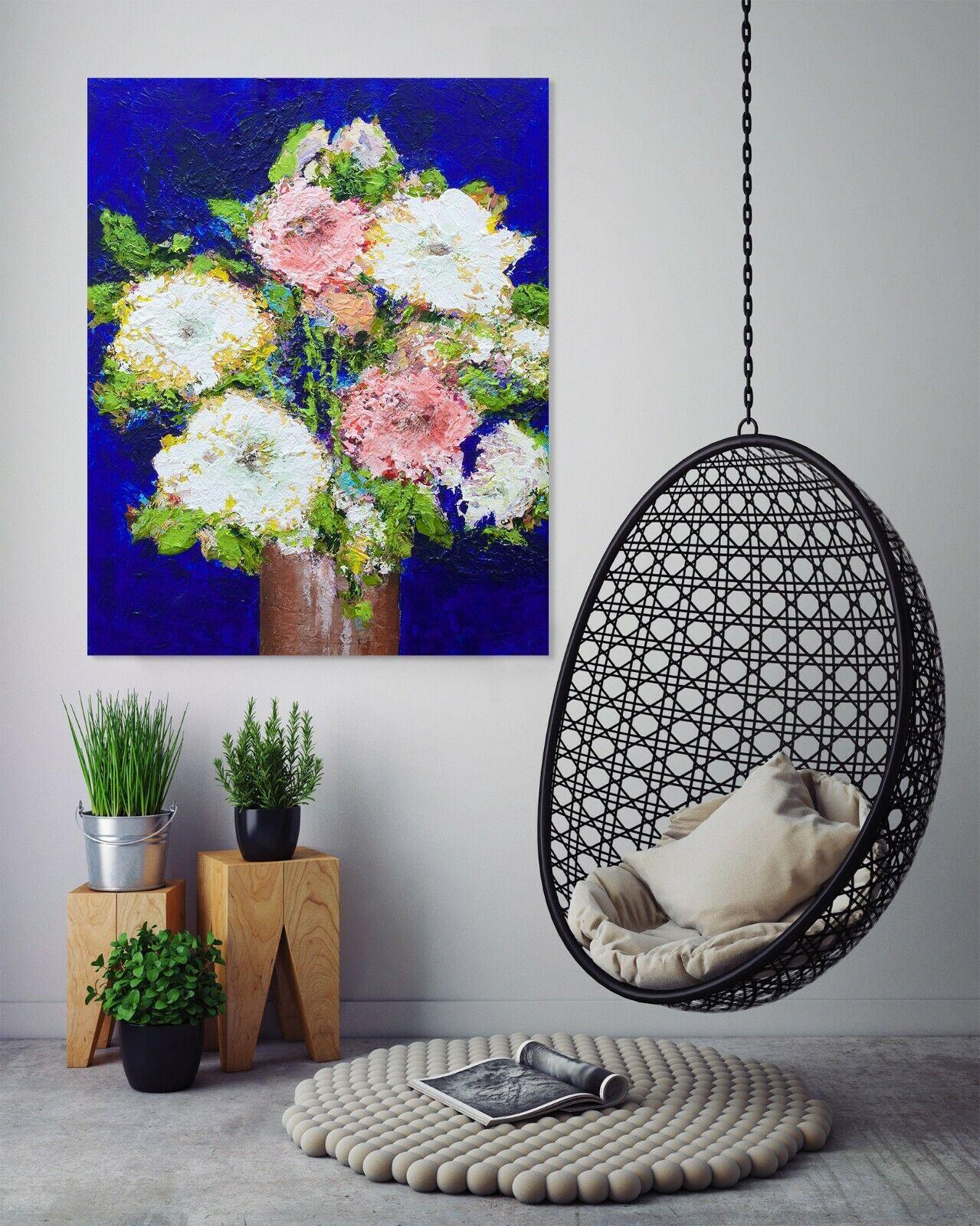 3D Chrysantheme 014NAM Wandaufkleber Wandtattoo Tapeten Wandbild Allan P Ava