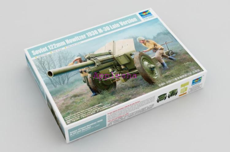 Trumpeter 02344 1 35 Soviet 122mm Howitzer 1938 M-30 Late