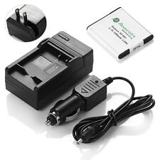 NP-BN1 N Type Battery + Charger Combo Kit For Sony Cyber Shot DSC-W310 W320 W330
