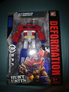 New Transformers Optimus Prime BPF War for Cybertron Siege Voyager Action Figure