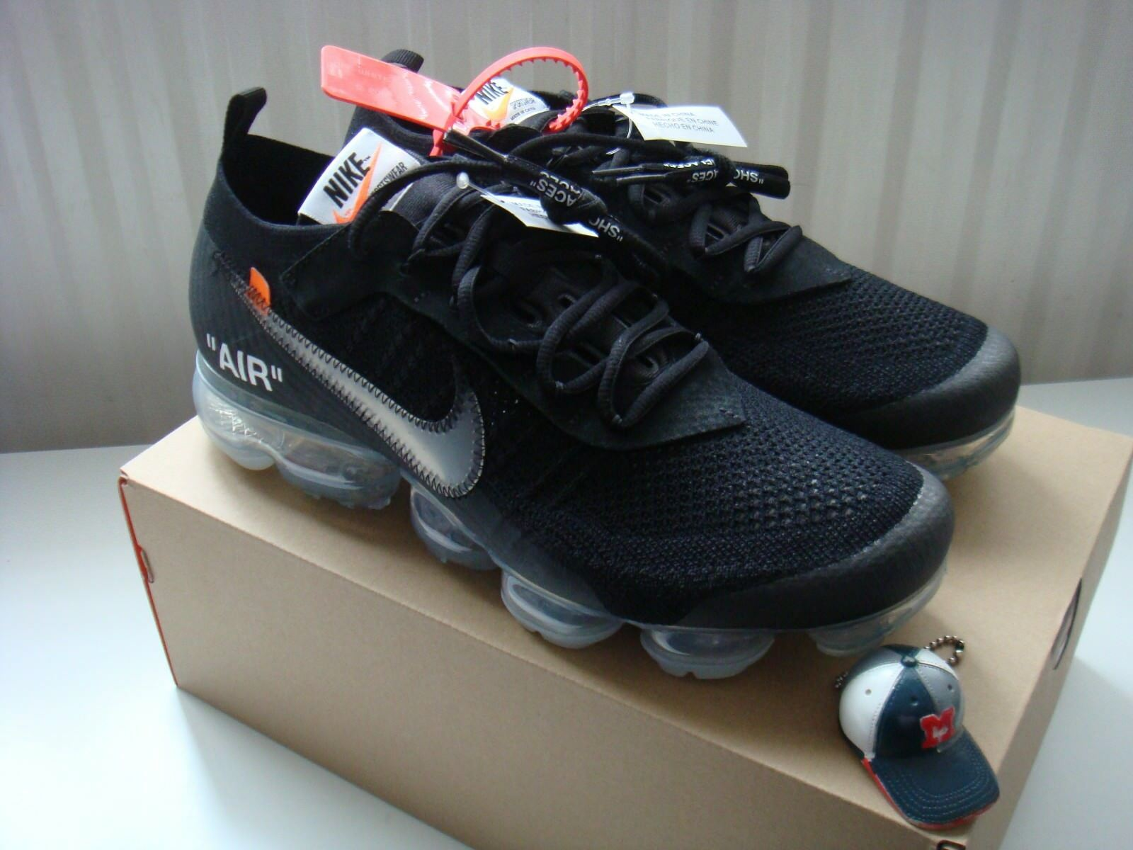Nike x Off-White Air VaporMax Black Ice US 6.5/Virgil Abloh/OG