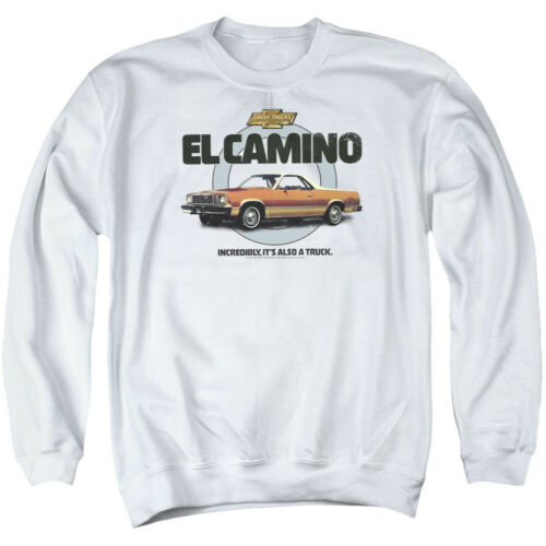 Chevrolet ALSO A TRUCK Licensed Adult Crewneck Sweatshirt S-3XL