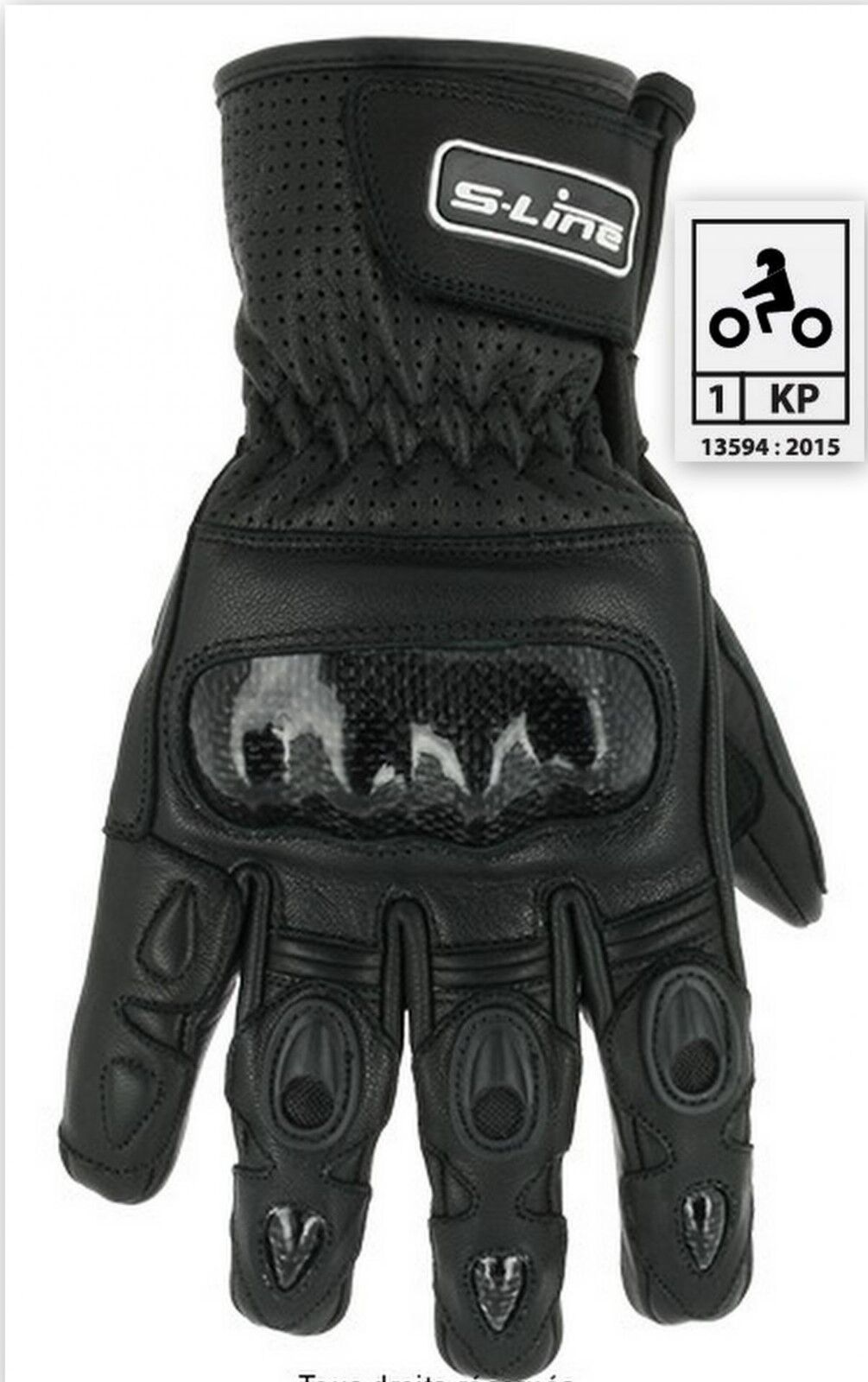 Guantes invierno  bicicleta de route homologado 500 Tamaño black L  choices with low price