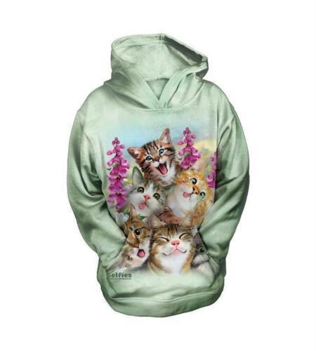 """The Mountain Kinder Hoodie /""""Kittens Selfie/"""""""