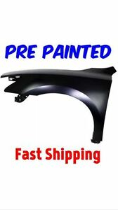 New PRE PAINTED Driver LH Fender for 2006-2009 Volkswagen Rabbit w Free Touchup