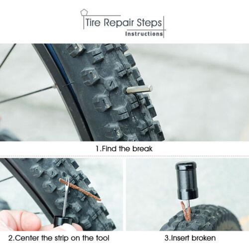 Tubeless Bike Tire Repair Kit Fix Plug Bicycle Fast Punctures Tubeless Tire Tool