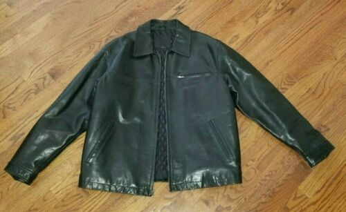Coach Mens Leather Jacket Black Medium GREAT Cond… - image 1