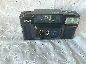 Ricoh FF-3 AF System Super 35mm Auto Focus Point / Shoot Film Camera Tested ;