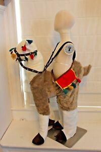Boutique-Llama-Alpaca-Ride-In-South-America-Costume-Kids-Boys-Girls-3-7-NEW