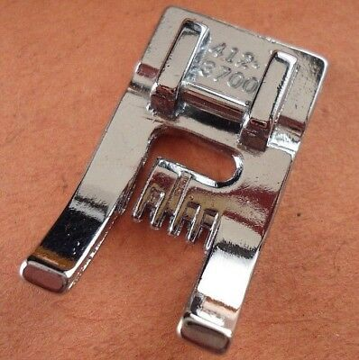 9 Groove Pintuck Foot for Viking Husqvarna Sewing Machine 4123700-45 Fits 1-7
