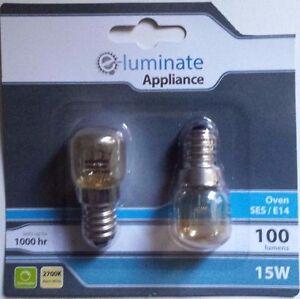 2-X-HEAVY-DUTY-300c-OVEN-COOKER-APPLIANCE-15w-Bulb-Lamp-SES-E14-Light-Bulbs-240V
