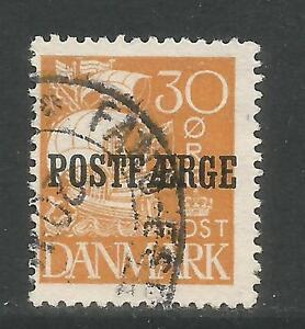 Details about Denmark 1927 Caravel 30o ocher Parcel Post--Ship Topical  (Q13) used