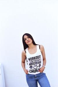 Organic Low Gym Vegan Women Vest Cotton Cut Bamboo WTYYqBcp
