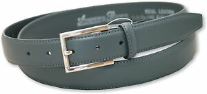 """Kleidung & Accessoires 48"""" Niedriger Preis New Mens Grey Leather Belt Style 5401 Size 32"""""""