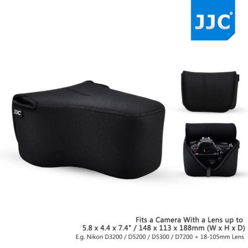 Lente Jjc 18*14*11cm Estuche Bolsa de Cámara para Canon EOS R 80D 70D 60D 760D 750D 700D