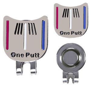 1pcs-Putt-Golf-Alignment-Aiming-Tool-Magnetic-Visor-Hat-Ball-Marker-Clip-Tools