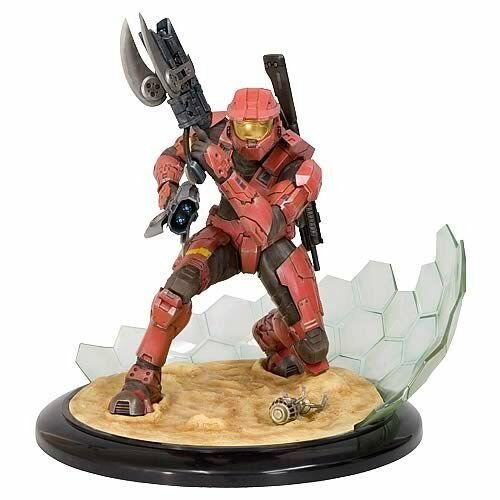 Halo 3 Kotobukiya ArtFX 11 Inch Statue Figure Field of Battle Red Spartan