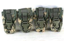 Lot of 5 - USGI Military MOLLE II Flashbang Flash Bang Grenade Pouch ACU NEW