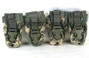 Lot Of 4 Usgi Military Molle Ii Flashbang Flash Bang Grenade Pouch